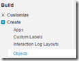 salesforce create object