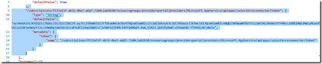 salesforce subscription in code view
